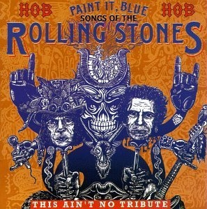 Paint It Blue: Songs Of The Rolling Stones album cover
