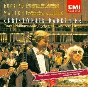 Rodrigo: Concerto De Aranjuez album cover