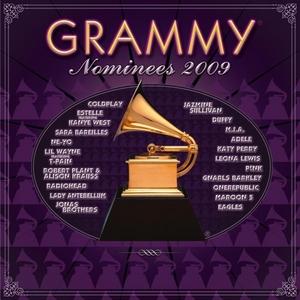 2009 Grammy Nominees album cover