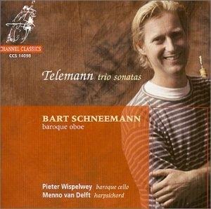 Telemann: Trio Sonatas album cover