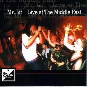 Live At The Middle East album cover