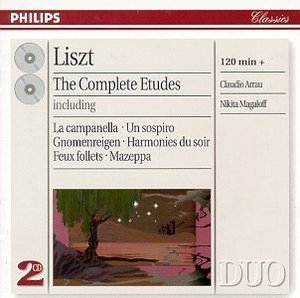 Liszt: The Complete Etudes album cover