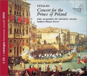 Vivaldi: Concert For The Prince Of Poland album cover