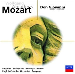 Mozart: Don Giovanni (Highlights) album cover