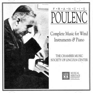 Poulenc: Complete Music For Winds And Piano album cover