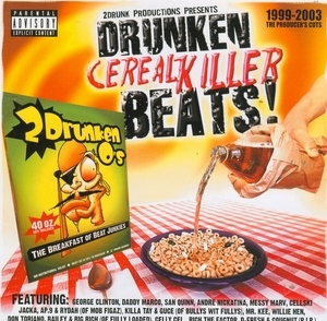 Drunken Cerealkiller Beats! album cover