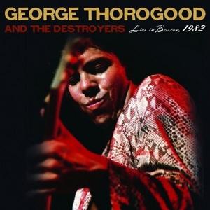 Live In Boston,  1982 album cover
