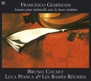 Francesco Geminiani: Sonates Pour Violoncello Avec La Basse Continue album cover