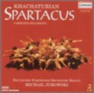 Khachaturian: Spartacus (Complete Recording) album cover
