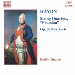 Haydn: String Quartets, 'Prussian' Op. 50, Nos. 4-6 album cover