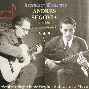 Segovia And His Contemporaries, Vol.10 album cover
