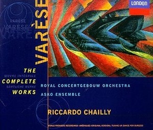 Varese: The Complete Works album cover