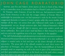 Cage: Roaratorio, Laughte... album cover