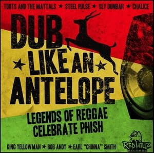 Dub Like An Antelope: Legends Of Reggae Celebrate Phish album cover