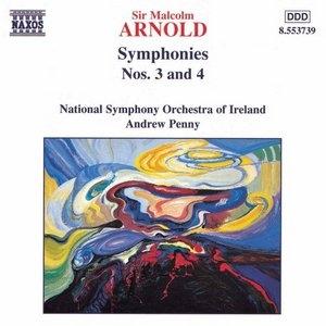 Arnold: Symphonies No.3 & 4 album cover