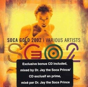 Soca Gold 2002 album cover
