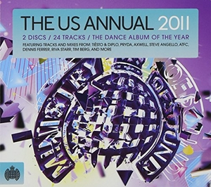 Ministry Of Sound: The US Annual 2011 album cover