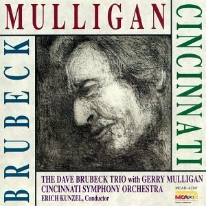 The Dave Brubeck Trio With Gerry Mulligan & The Cincinnati Symphony Orchestra album cover