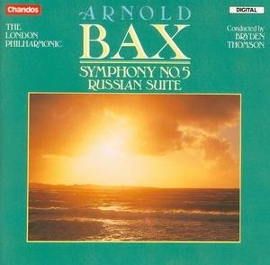 Bax: Symphony No.5, Russian Suite album cover