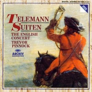 Telemann: Suiten album cover