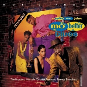 Music From Mo' Better Blues album cover
