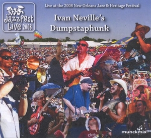 Live At The 2008 New Orleans Jazz & Heritage Festival album cover