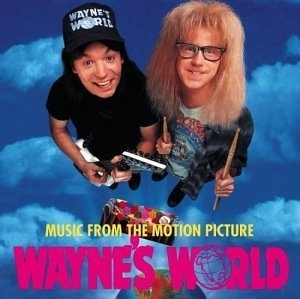 Wayne's World: Music From the Motion Picture album cover
