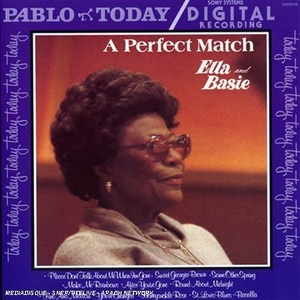 A Perfect Match: Ella & Basie album cover