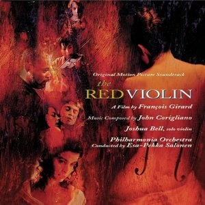 The Red Violin: Original Motion Picture Soundtrack album cover