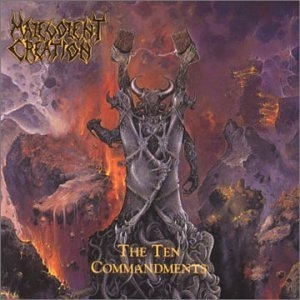 The Ten Commandments album cover