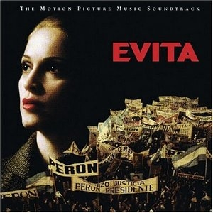 Evita: The Motion Picture Music Soundtrack album cover