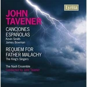 Tavener: Canciones Españolas; Requiem For Father Malachy album cover