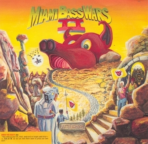 Miami Bass Wars II album cover