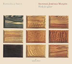 Antonio Jiménez Manjón: Works For Guitar album cover