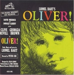 Oliver! (1962 Original Broadway Cast) album cover