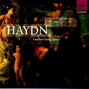 Haydn-String Quartets Op54 And Op74 album cover