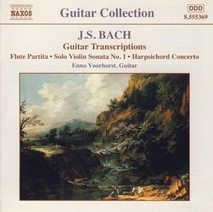 J.S. Bach: Guitar Transcriptions album cover