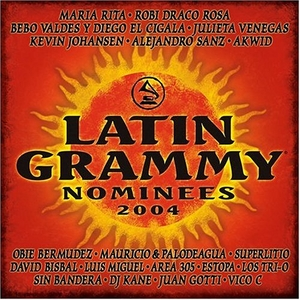 2004 Latin Grammy Nominees album cover