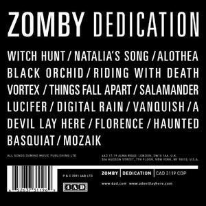 Dedication album cover