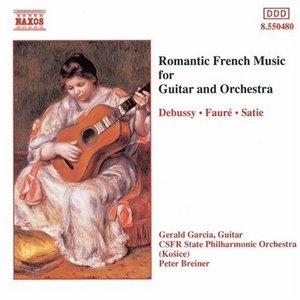 Romantic French Music For Guitar And Orchestra album cover