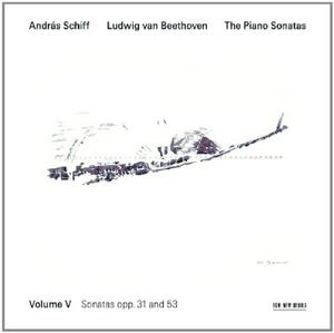 Beethoven: The Piano Sonatas, Vol.5 album cover