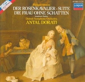 Strauss: Der Rosenkavalier Suite; Die Frau Ohne Schatten album cover