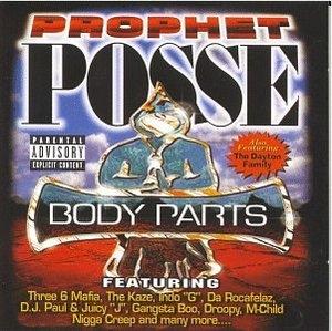 Body Parts album cover