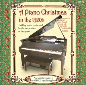 A Piano Christmas In The 1920s album cover