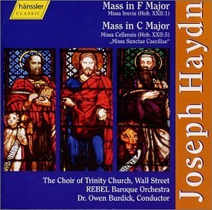 Haydn: Mass In F Major~ Mass In C Major album cover