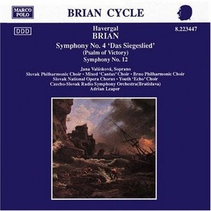 Brian: Symphonies Nos.4 And 12 album cover