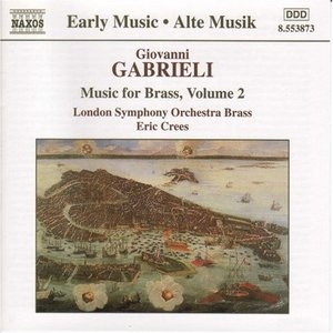 Gabrieli-Music For Brass Vol.2 album cover