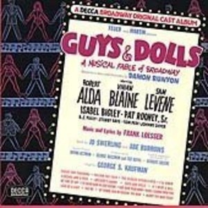 Guys And Dolls (1950 Original Cast) album cover