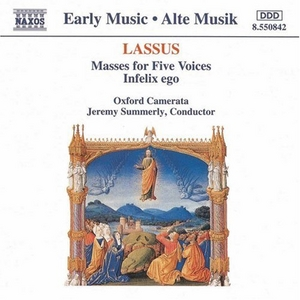 Byrd: Mass For Four Voices, Mass For Five Voices, Infelix Ego album cover