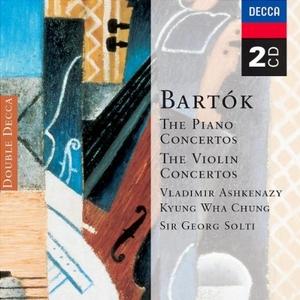 Bartok: Piano & Violin Concertos album cover